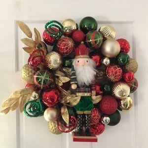 Nutcracker wreath